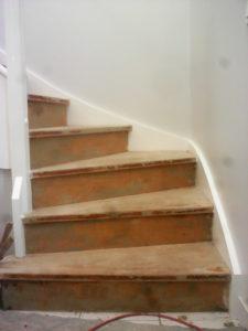Ouest Menuisiers Plaquistes Habillage Escalier 2 AVANT Copie